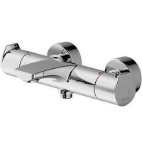 Смеситель для ванны Bravat Nizza F6353387CP-01-RUS с термостатом Хром