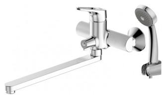 Смеситель для ванны Bravat Drop-D F648162C-LB-RUS универсальный Хром