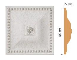 Вставка цветная Decomaster D209-42 (100x100x22 мм)