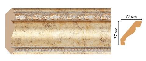 Карниз потолочный Decomaster 154-553 (77x77x2400 мм)