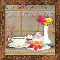 Декор Style Tiles Marco Cocinas B Tulipan 20x20