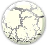 Краска Decomaster «Венецианский белый» с эффектом трещин — финишное покрытие 258101