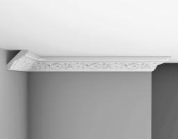 Плинтус потолочный с рисунком Decomaster-3 95775A (70х70х2400 мм)