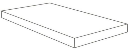 Ступень Italon Room Stone White Scalino Ang Dx Cer угловая правая 33x60 620070001219