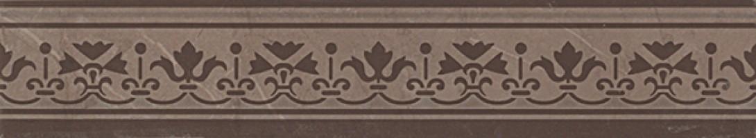 Бордюр fJWZ Supernatural Damasco Visone Listello 5.5x30.5 FAP Ceramiche