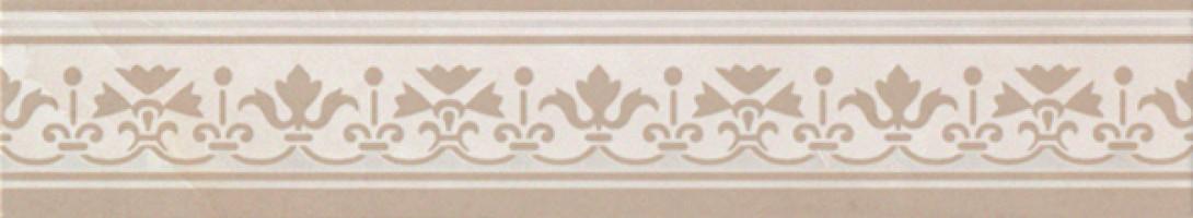 Бордюр fJWY Supernatural Damasco Avorio Listello 5.5x30.5 FAP Ceramiche
