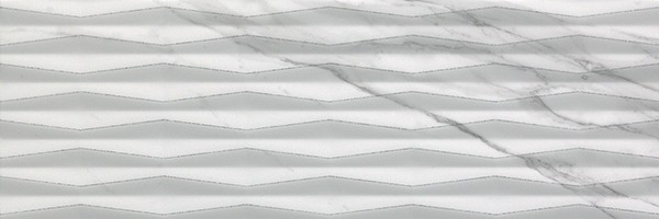 Плитка Fap Ceramiche Roma Fold Glitter Statuario 25x75 настенная fLUA