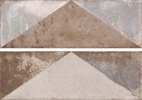 Плитка Aparici Brickwork Rev. triangle ornato 20x60 настенная
