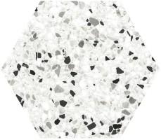 Керамогранит Click Ceramica Tempo and Inspire Hexa Black 20x24