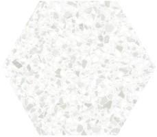 Керамогранит Click Ceramica Tempo and Inspire Hexa White 20x24