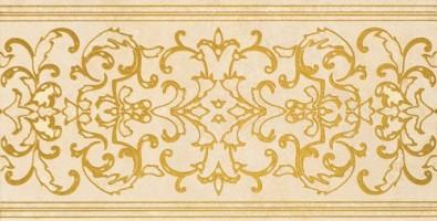 Декор Gardenia Orchidea Canova Fascia Decorata Beige 25x50 17391