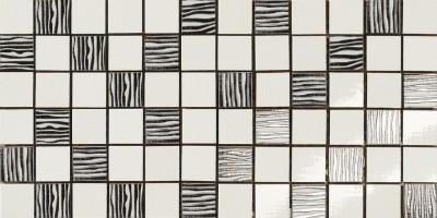 Мозаика Antica Ceramica Rubiera Alterego Mos. Platino Bianco 20x40 301299