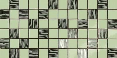 Мозаика Antica Ceramica Rubiera Alterego Mos. Platino Verde 20x40 301302