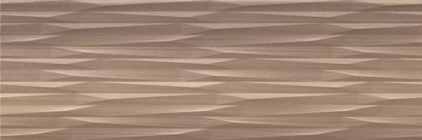 Плитка Saloni Ceramica Eukalypt Prismas Marron 40x120 настенная JLZ630