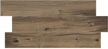 Керамогранит Flaviker Nordik Wood Brown Rett 20x120 0003688