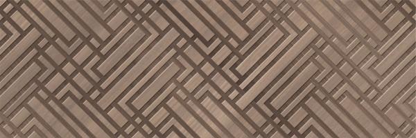 Плитка Saloni Ceramica Eukalypt Kross Marron-Cacao 40x120 настенная JLY643