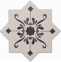 Декор Cevica Becolors Star Dec. Stencil Navy 13.25x13.25