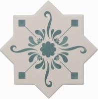 Декор Cevica Becolors Star Dec. Stencil Lagoon 13.25x13.25