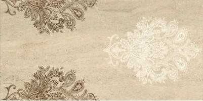 Декор Capri Ceramiche Travertino Inserto Stencil Crema 30x60