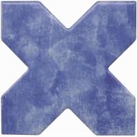 Керамогранит Cevica Becolors Cross Electric Blue 13.25x13.25