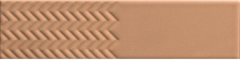 Настенная плитка 4100605 Biscuit Waves Terra 5x20 41ZERO42