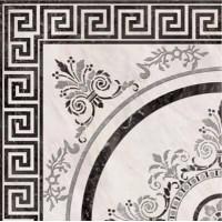 Панно Roseton Nero 4 45x45 Absolut Keramika