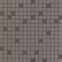 Мозаика настенная 9AQE Arkshade Deep Grey Mosaico Q 30.5x30.5 Atlas Concorde Italy