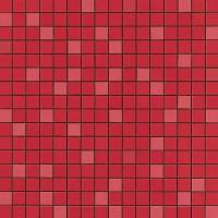 Мозаика настенная 9AQR Arkshade Red Mosaico Q 30.5x30.5 Atlas Concorde Italy