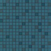 Мозаика настенная 9AQU Arkshade Blue Mosaico Q 30.5x30.5 Atlas Concorde Italy