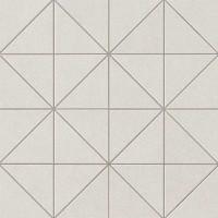 Мозаика настенная AUID Arkshade White Mosaico Prisma 36x36 Atlas Concorde Italy