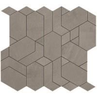 Мозаика напольная AN65 Boost Grey Mosaico Shapes 31x33.5 Atlas Concorde Italy