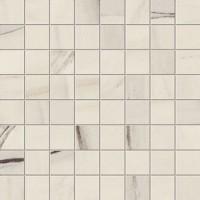 Мозаика AOVF Marvel Dream Bianco Fantastico Mosaico Matt 30x30 Atlas Concorde Italy