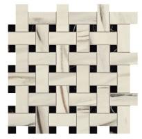 Мозаика AOVJ Marvel Dream Bianco F. Basket Weave Matt 30.5x30.5 Atlas Concorde Italy