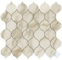 Мозаика настенная 9EDC Marvel Edge Royal Calacatta Drop Mosaic 27.2x29.7 Atlas Concorde Italy
