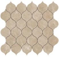 Мозаика настенная 9EDR Marvel Edge Gris Clair Drop Mosaic 27.2x29.7 Atlas Concorde Italy