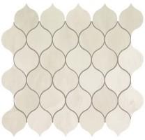 Мозаика настенная 9EDW Marvel Edge Imperial White Drop Mosaic 27.2x29.7 Atlas Concorde Italy