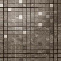 Мозаика настенная 9EQB Marvel Edge Absolute Brown Mosaic Q 30.5x30.5 Atlas Concorde Italy