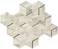 Мозаика настенная AEPH Marvel Edge Royal Calacatta Mosaico 3D 30.5x26.4 Atlas Concorde Italy