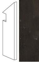 Плинтус AFBW Marvel Edge Absolute Brown Battiscopa Sag.Dx 7.2x30 Atlas Concorde Italy