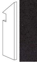 Плинтус ATAU Marvel Gems Terrazzo Black Battiscopa Sag. Dx 7.2x30 Atlas Concorde Italy