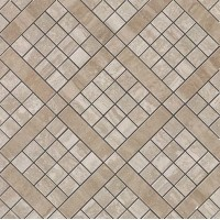 Декор 9MVB Marvel Pro Travertino Silver Diagonal Mosaic 30.5x30.5 Atlas Concorde Italy