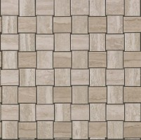 Декор 9MVM Marvel Pro Travertino Silver Net Mosaic 30.5x30.5 Atlas Concorde Italy
