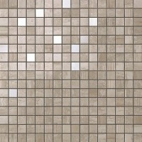Декор 9MVV Marvel Pro Travertino Silver Mosaic 30.5x30.5 Atlas Concorde Italy