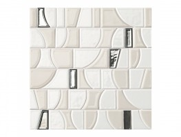 Мозаика fLJ1 Frame Arte White Mosaico 30.5x30.5 Fap Ceramiche