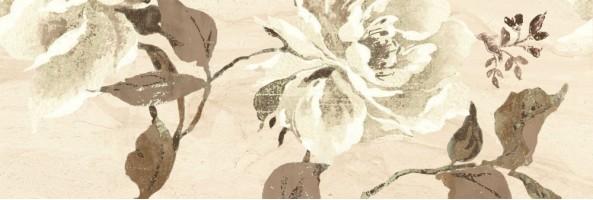 Плитка настенная 00-00-5-17-10-11-645 Даф бежевая с рисунком 20x60 Belleza