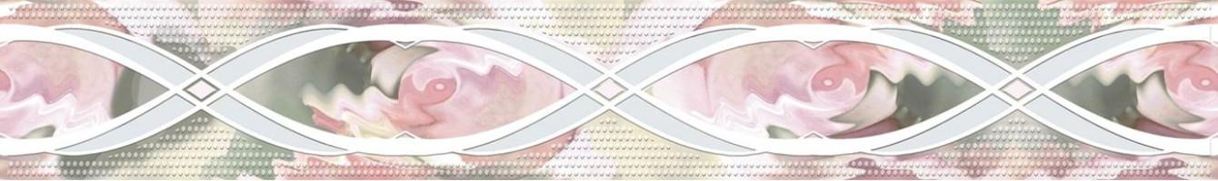 Бордюр Розовый свет 05-01-1-46-03-41-359-0 4х40 Belleza
