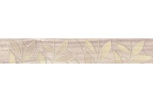 Бордюр 66-03-11-1344 Bona тёмно-бежевый 6.2x40 Ceramica Classic