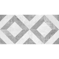 Настенная плитка Troffi 08-01-06-1339 серый узор 20x40 Ceramica Classic