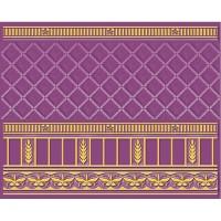 Бордюр 05-01-1-93-03-56-886-0 Воспоминание Фиолетовый 20х25 Ceramique Imperiale