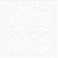 Декор 04-01-1-14-03-00-281-0 Замоскворечье Белый 20х20 Ceramique Imperiale